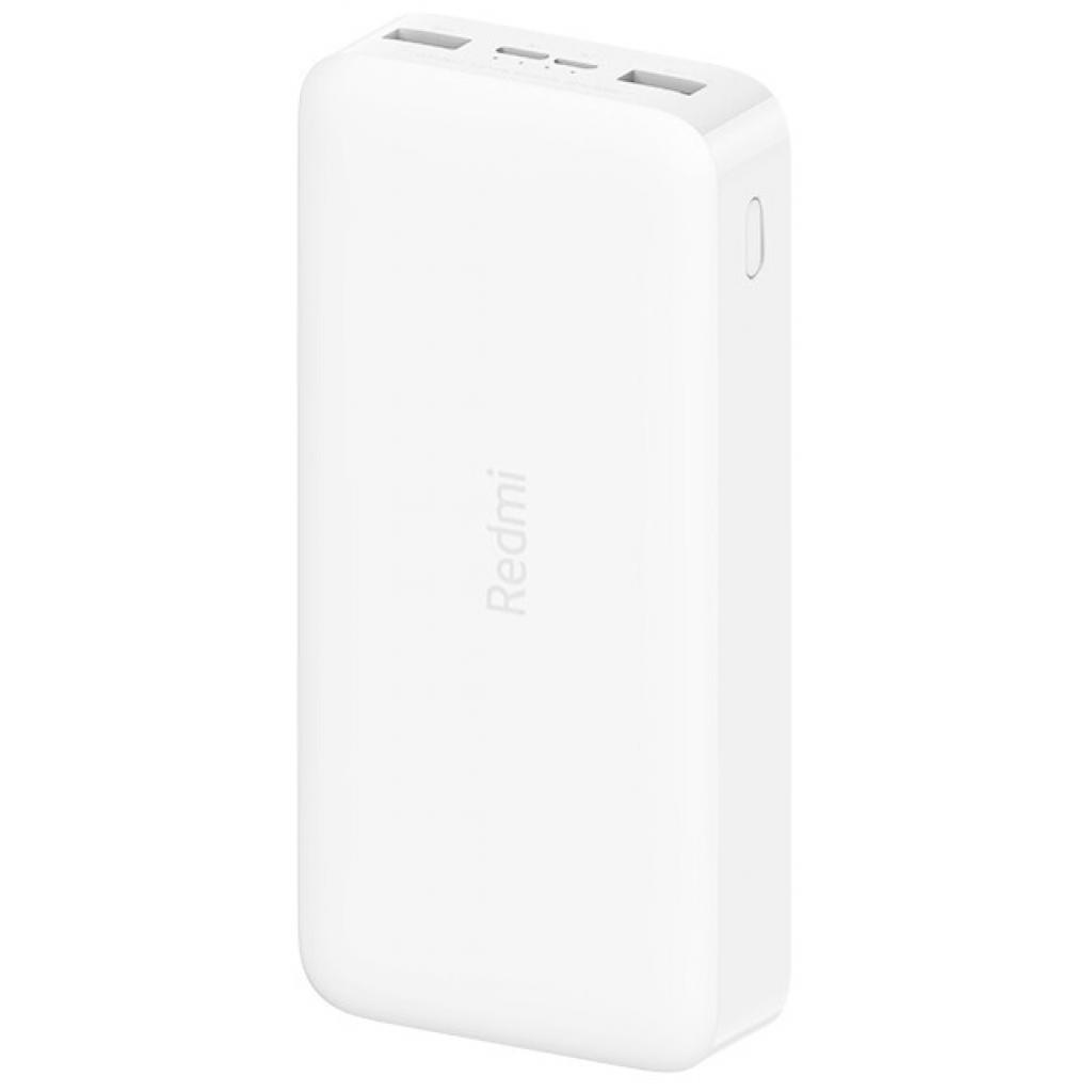 Батарея универсальная Xiaomi Redmi 20000mAh (in 2.1A Micro-USB,Type-C/ out 2*2.4A) White (VXN4265CN / VXN4285) изображение 2
