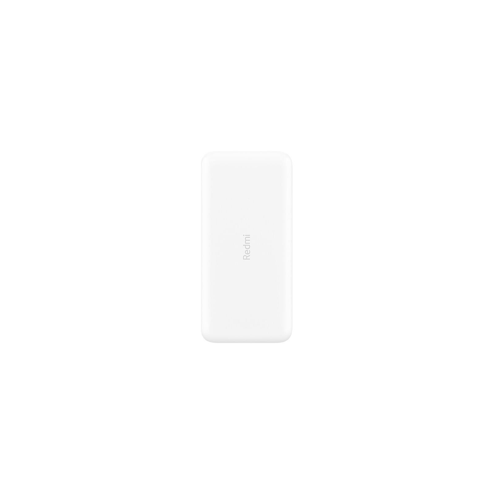 Батарея универсальная Xiaomi Redmi 20000mAh (in 2.1A Micro-USB,Type-C/ out 2*2.4A) White (VXN4265CN / VXN4285)