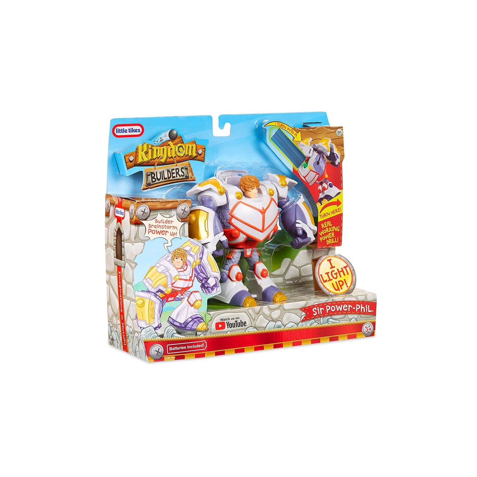 Трансформер Kingdom Builders со светом Сэр Филипп-силач (648977) изображение 3