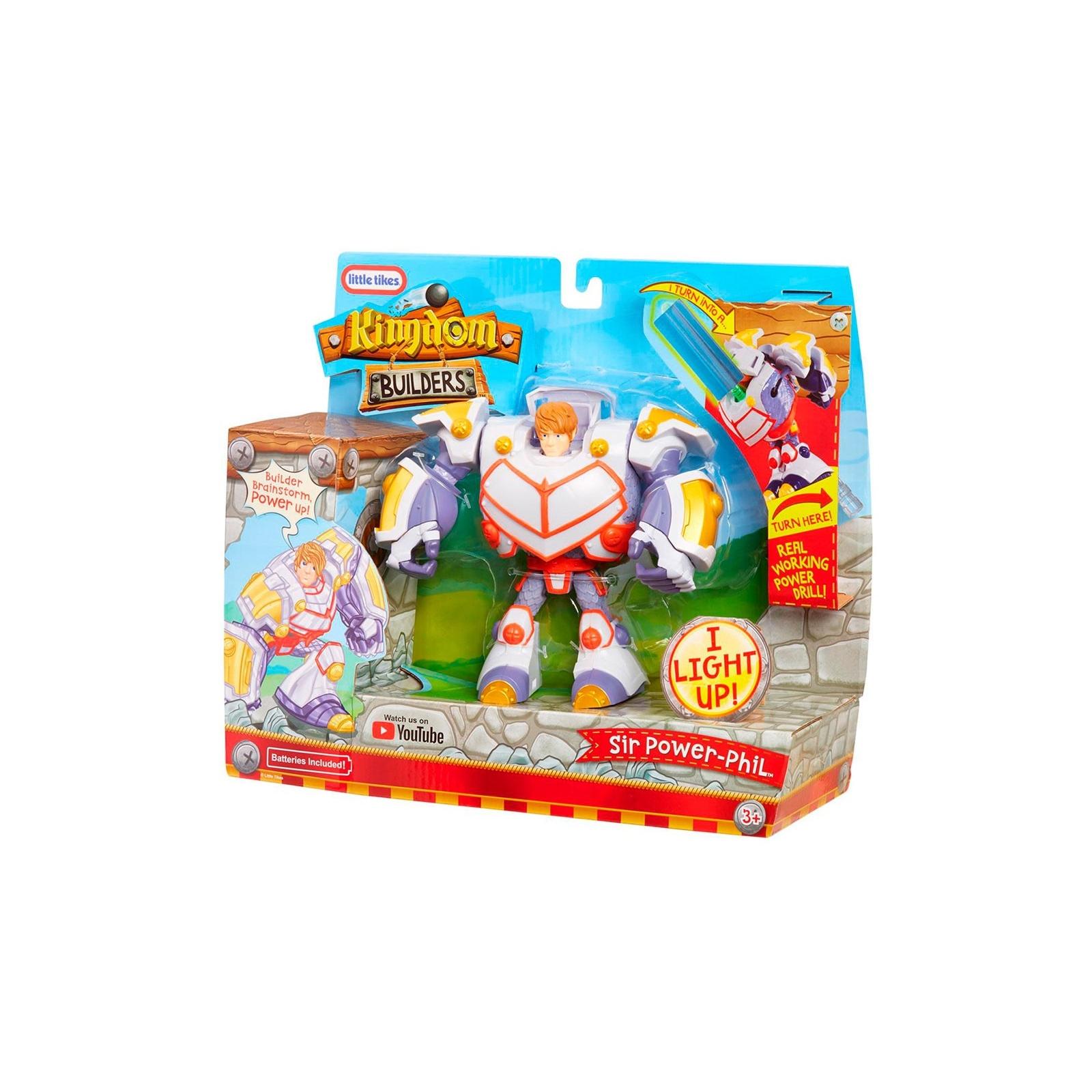 Трансформер Kingdom Builders со светом Сэр Филипп-силач (648977) изображение 4