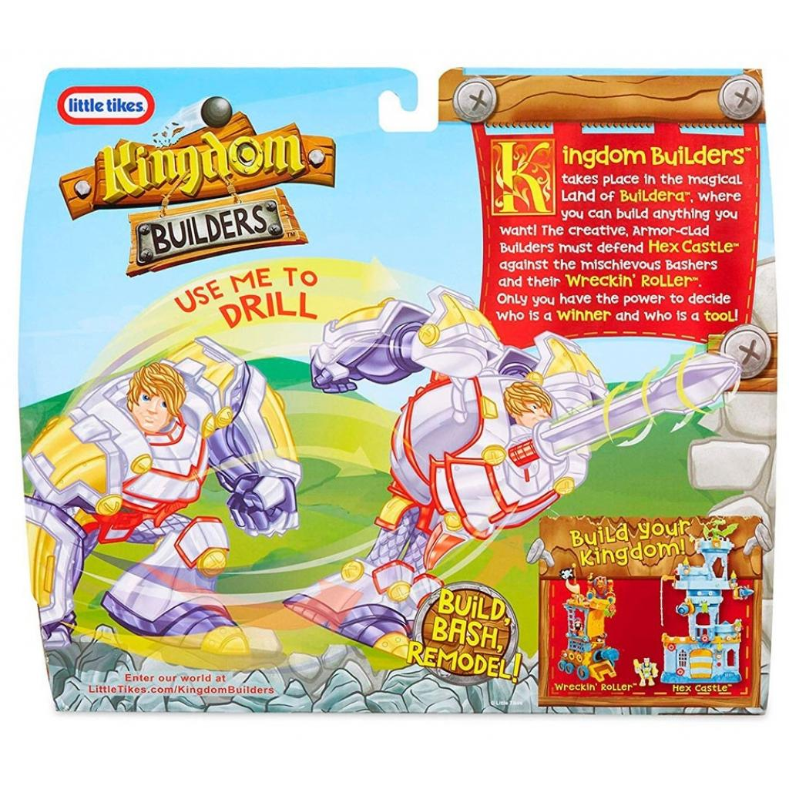 Трансформер Kingdom Builders со светом Сэр Филипп-силач (648977) изображение 5