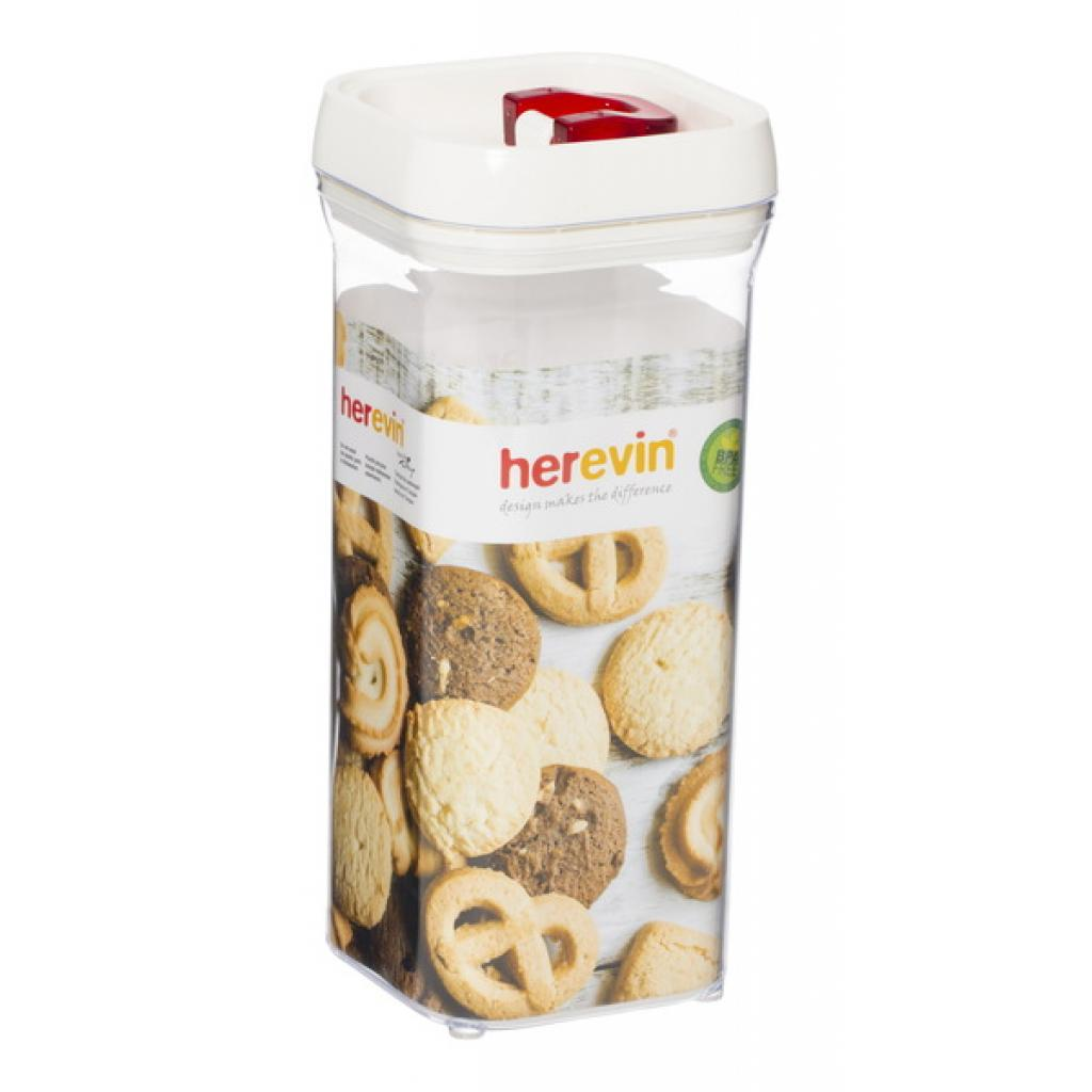 Пищевой контейнер Herevin Red 1.5 л (161203-001)