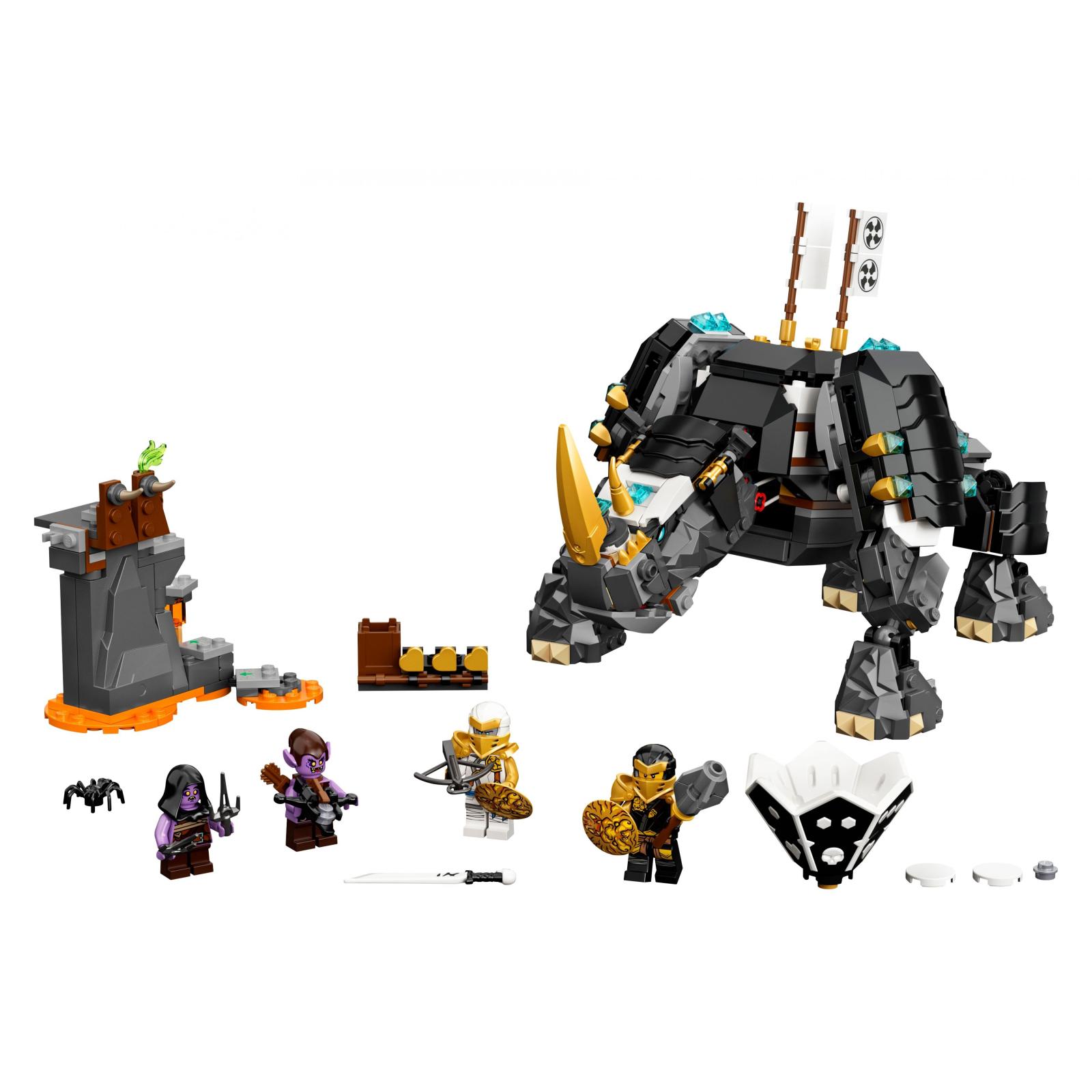 Конструктор LEGO Ninjago Бронированный носорог Зейна 616 деталей (71719) изображение 2