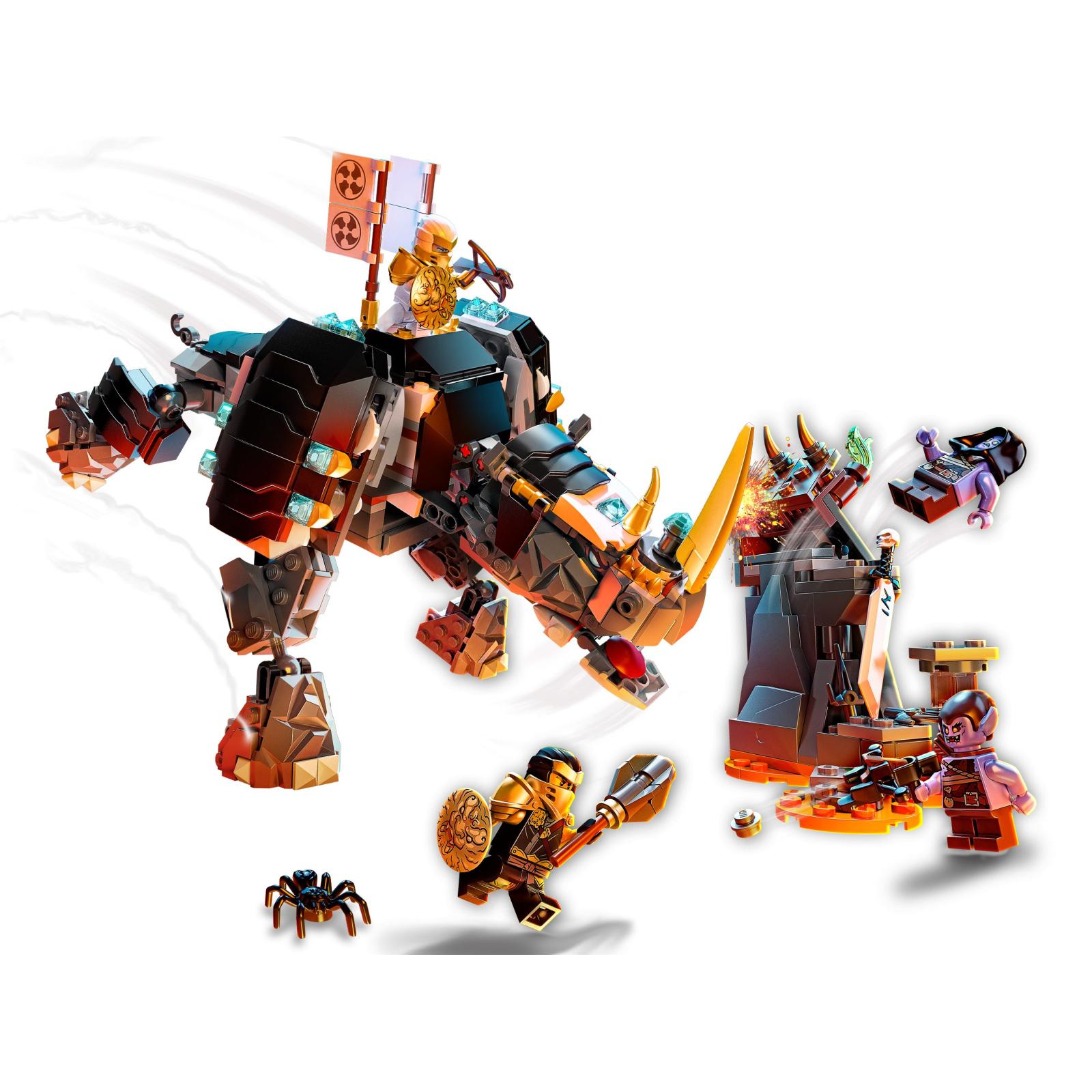 Конструктор LEGO Ninjago Бронированный носорог Зейна 616 деталей (71719) изображение 3