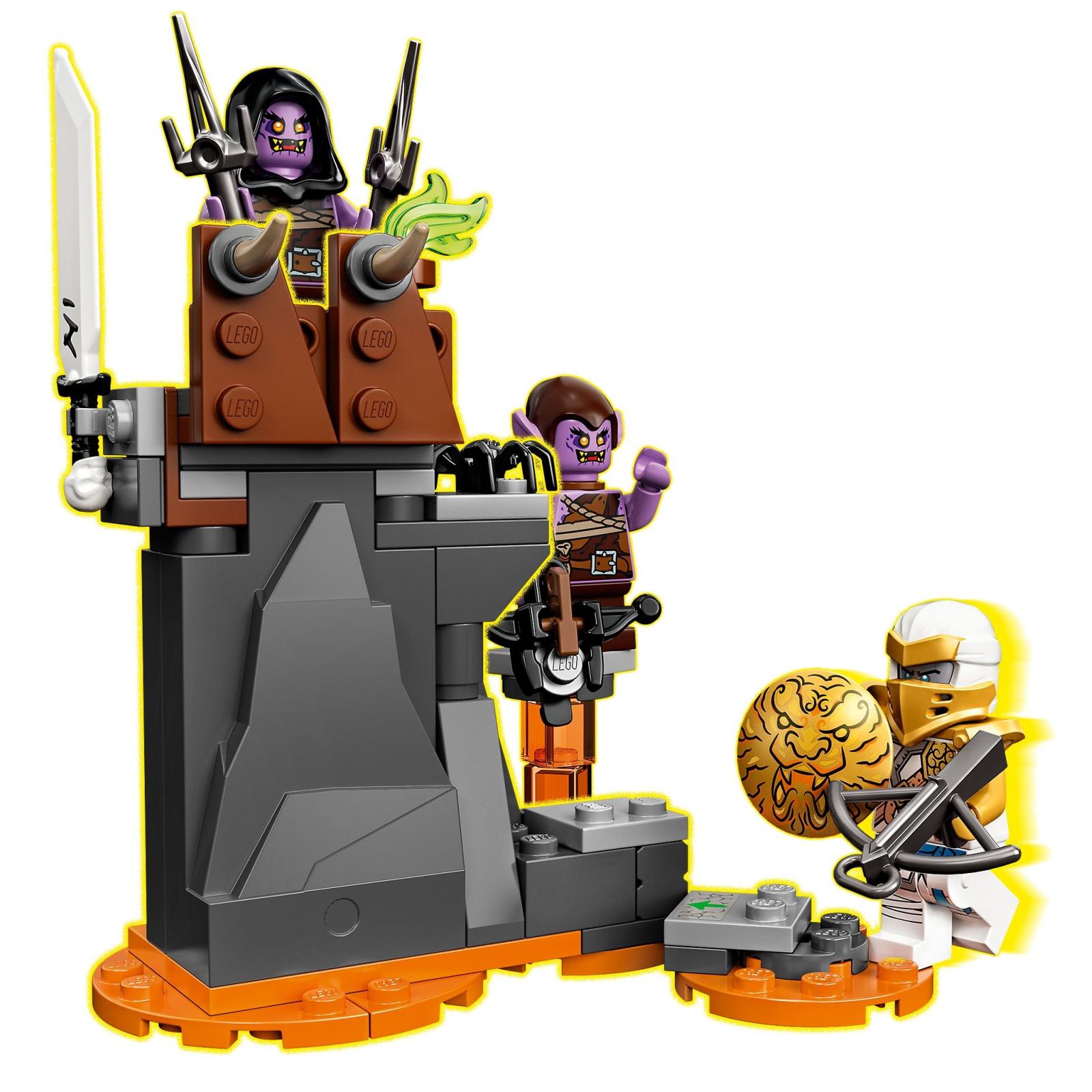 Конструктор LEGO Ninjago Бронированный носорог Зейна 616 деталей (71719) изображение 5