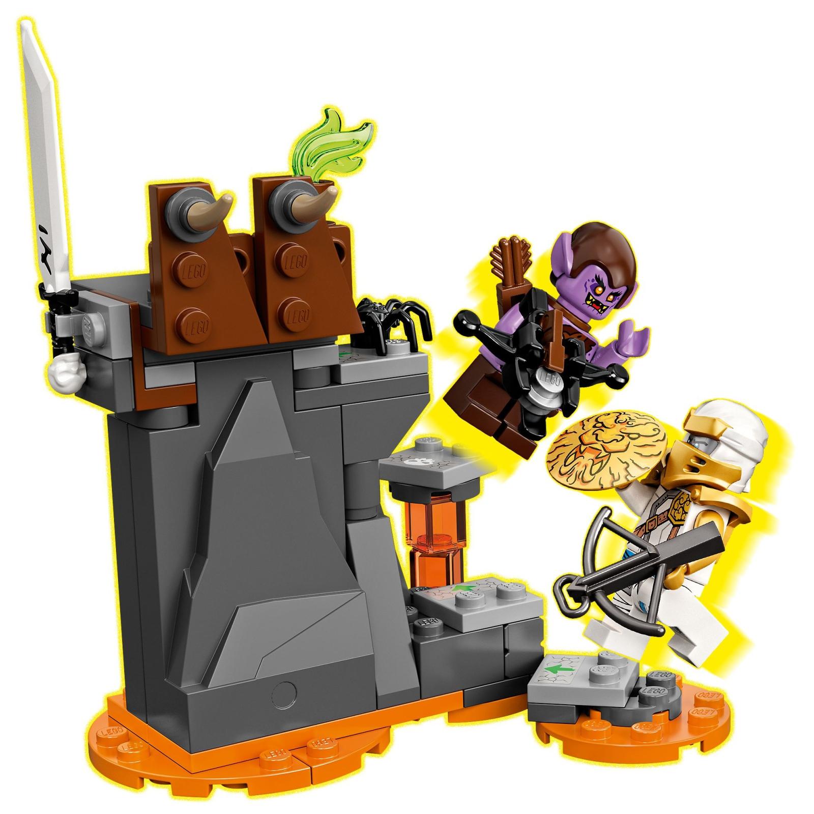 Конструктор LEGO Ninjago Бронированный носорог Зейна 616 деталей (71719) изображение 6