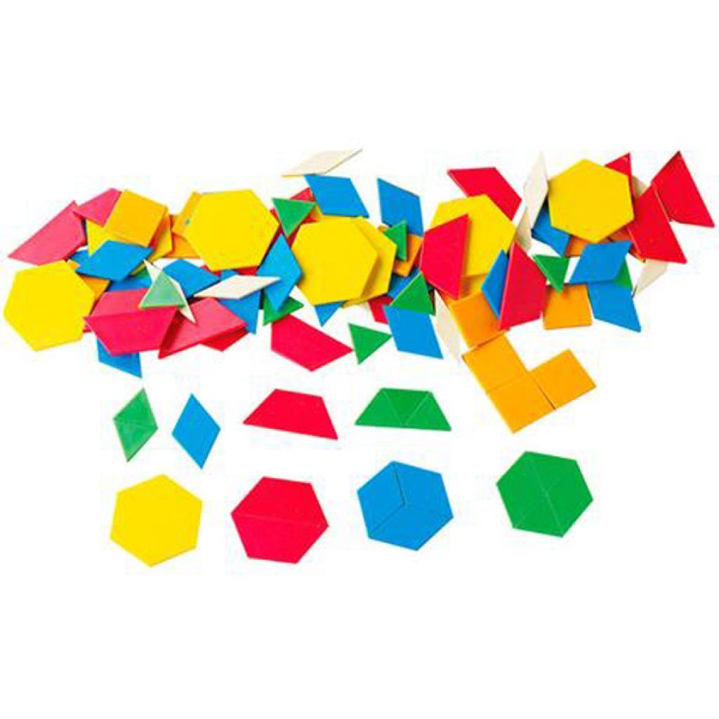 Навчальний набір Gigo Геометрична мозаїка з картками, 250 ел. (1042R) зображення 2