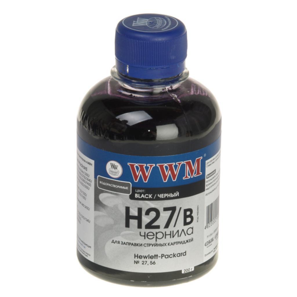 Чернила WWM HP № 27/56 (C8727A/6656) black (H27/B)