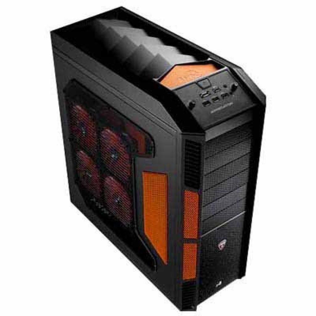 Корпус AeroCool PGS XPREDATOR Evil Black-Black/Oran (EN56472)