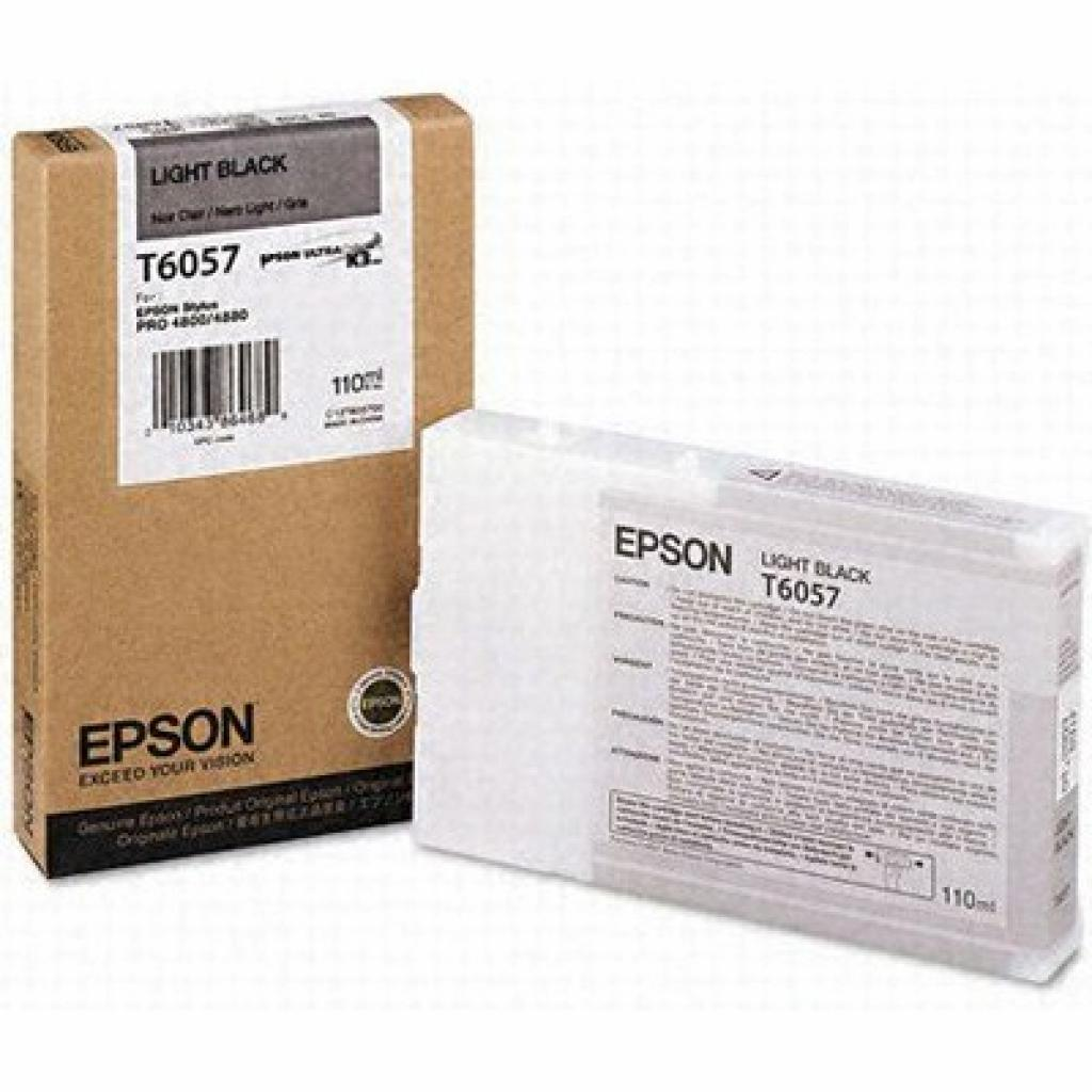 Картридж EPSON St Pro 4800 /4880 light black (C13T605700)