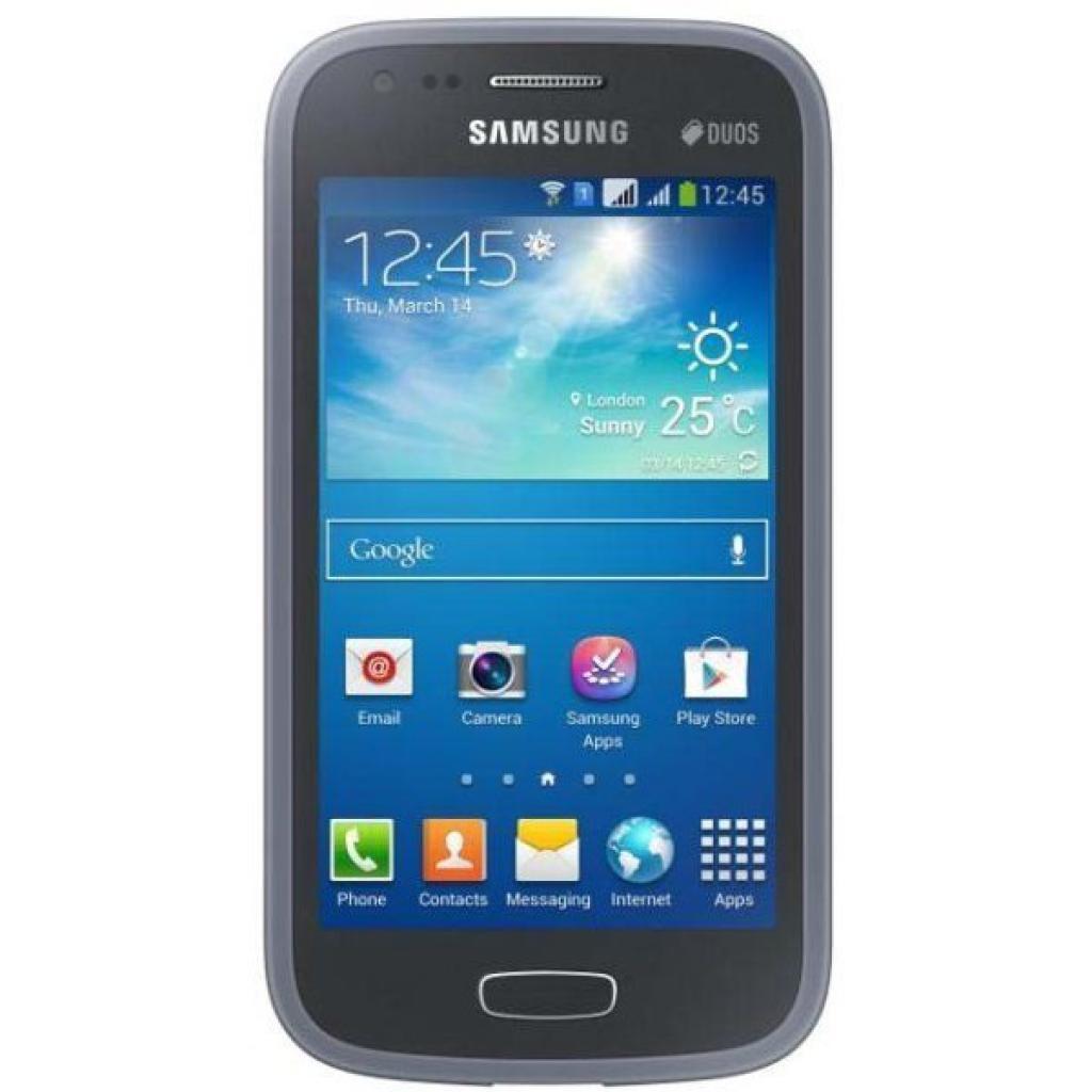 Чехол для моб. телефона Samsung S7272 Galaxy Ace 3/Black/накладка (EF-PS727BBEGWW) изображение 2