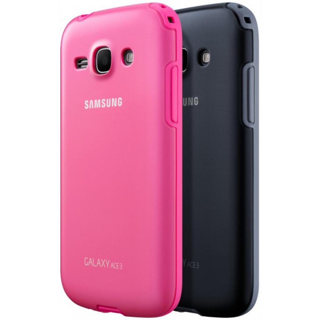 Чехол для моб. телефона Samsung S7272 Galaxy Ace 3/Black/накладка (EF-PS727BBEGWW) изображение 3
