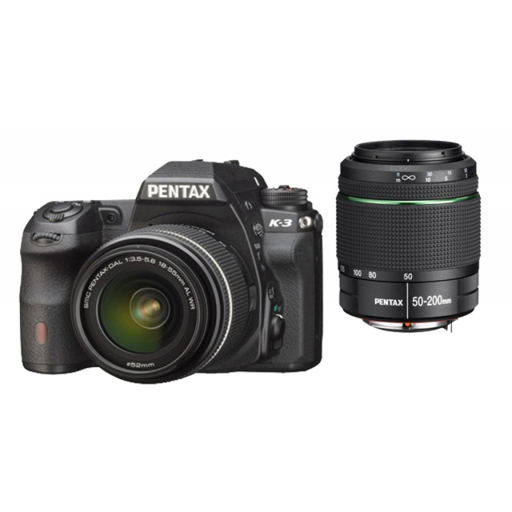 Цифровой фотоаппарат Pentax K-3+DA L 18-55 +DA L 50-200 WR (15562) изображение 5