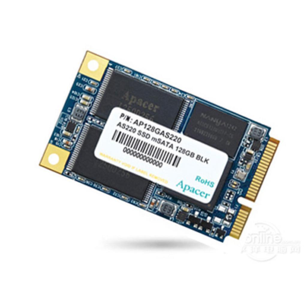 Накопитель SSD mSATA 128GB Apacer (AP128GAS220)