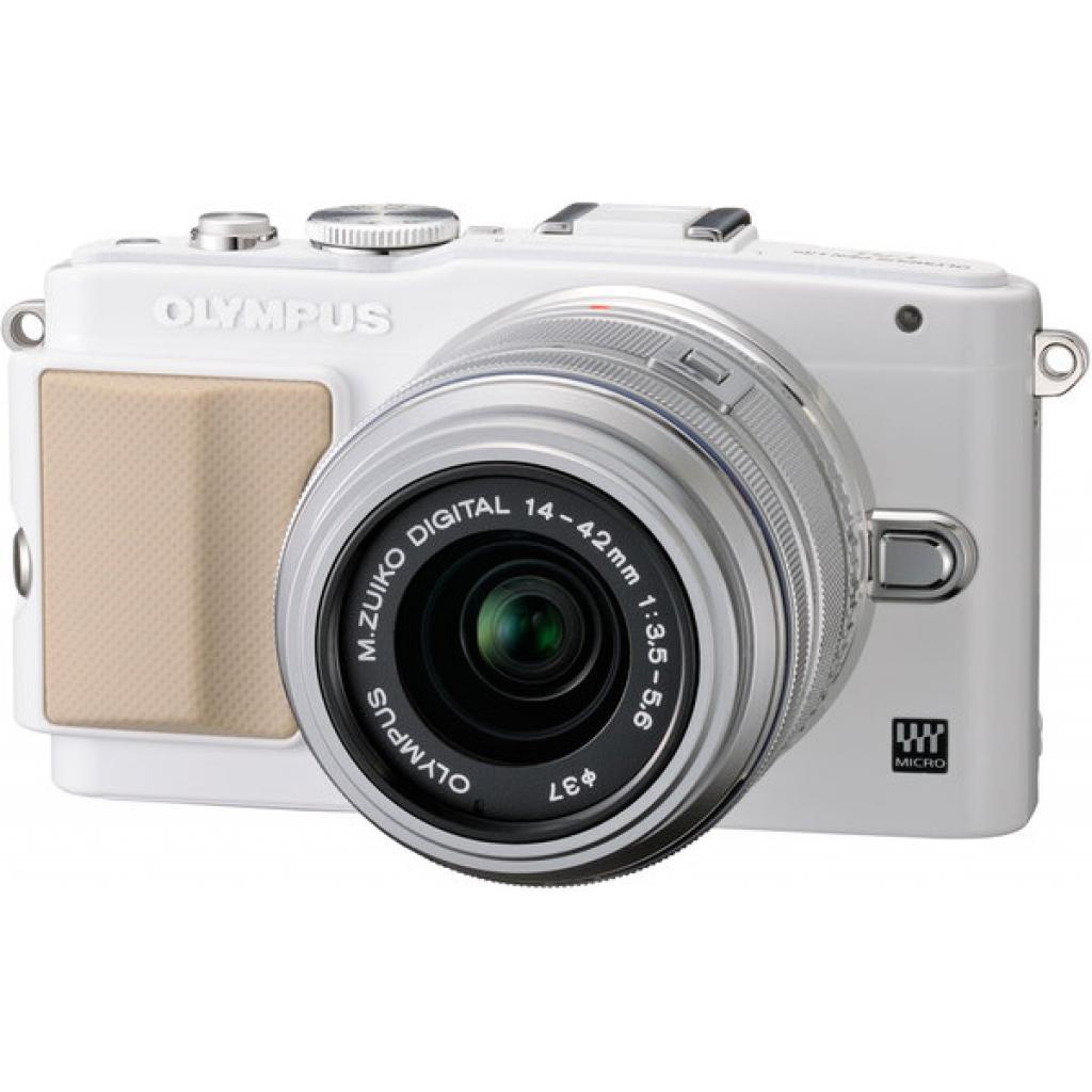 Цифровой фотоаппарат OLYMPUS E-PL5 14-42 mm white/silver (V205041WE000) изображение 2
