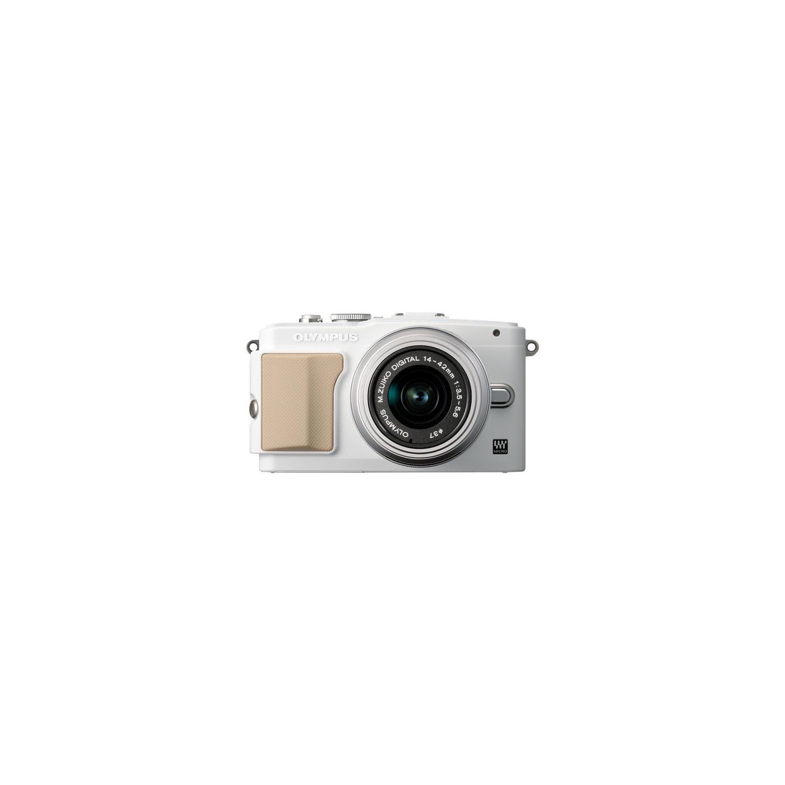 Цифровой фотоаппарат OLYMPUS E-PL5 14-42 mm white/silver (V205041WE000)