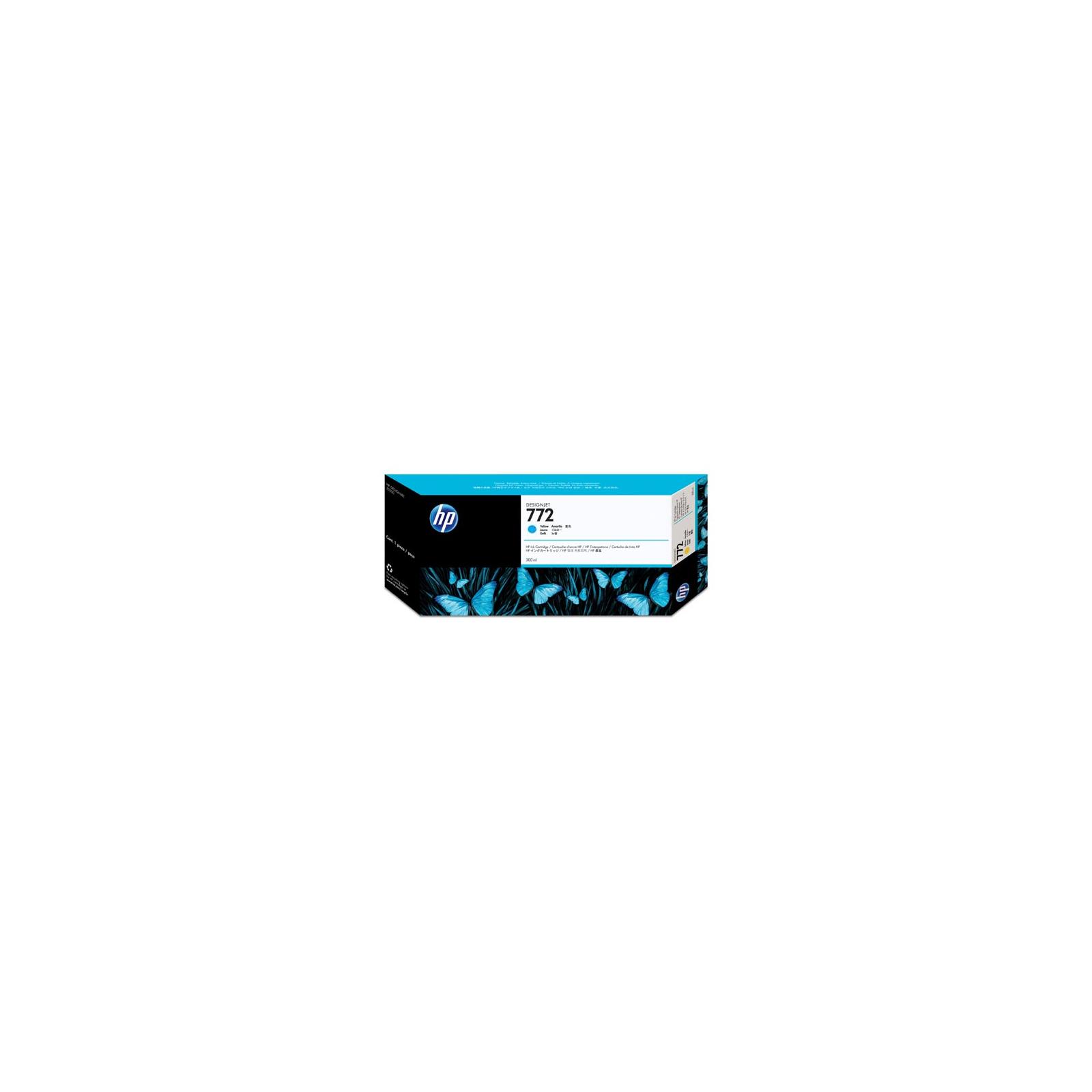 Картридж HP DJ No.772 Cyan Designjet Z5200 300 ml (CN636A)