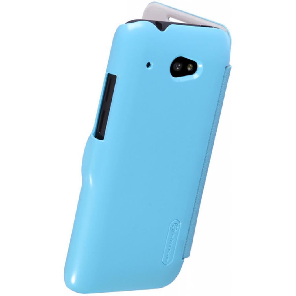 Чехол для моб. телефона NILLKIN для HTC Desire 601 /Fresh/ Leather/Blue (6120399) изображение 3
