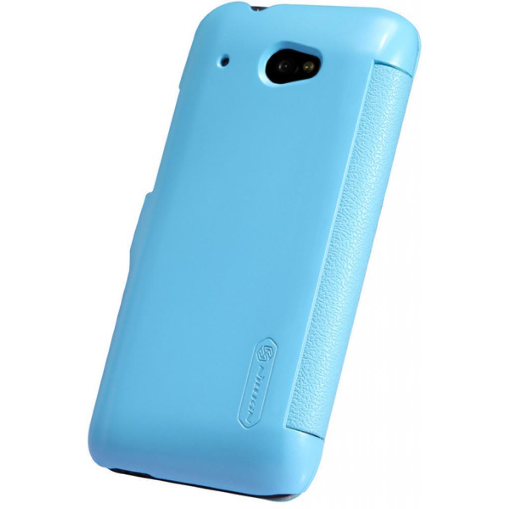 Чехол для моб. телефона NILLKIN для HTC Desire 601 /Fresh/ Leather/Blue (6120399) изображение 4