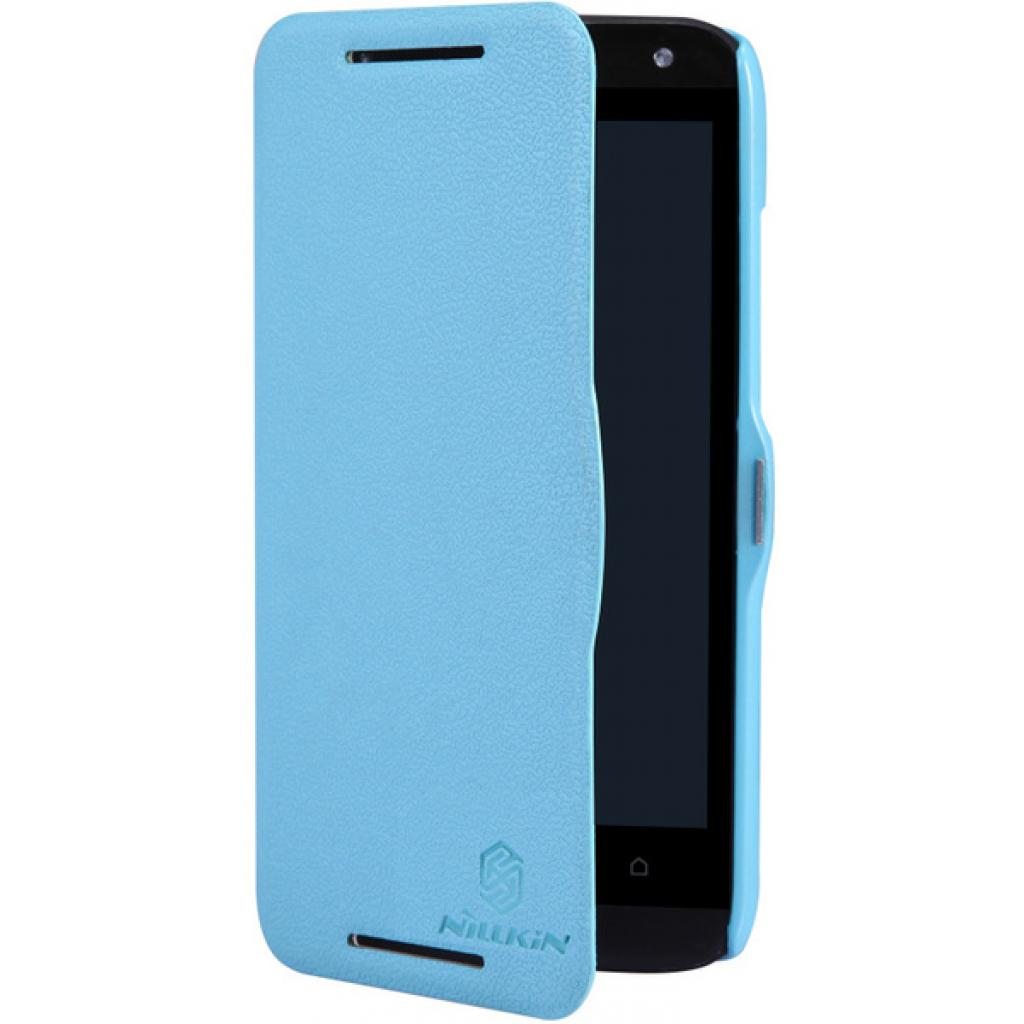 Чехол для моб. телефона NILLKIN для HTC Desire 601 /Fresh/ Leather/Blue (6120399) изображение 5