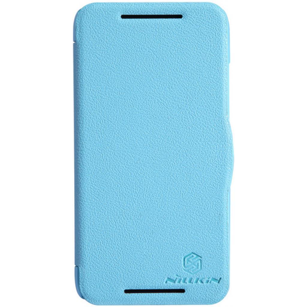 Чехол для моб. телефона NILLKIN для HTC Desire 601 /Fresh/ Leather/Blue (6120399)