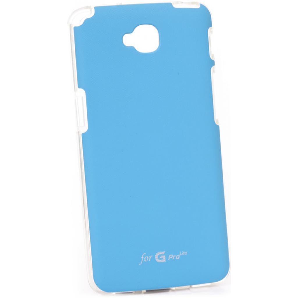Чехол для моб. телефона VOIA для LG D686 Optimus G Pro Lite /Jell skin/Blue (6093496)