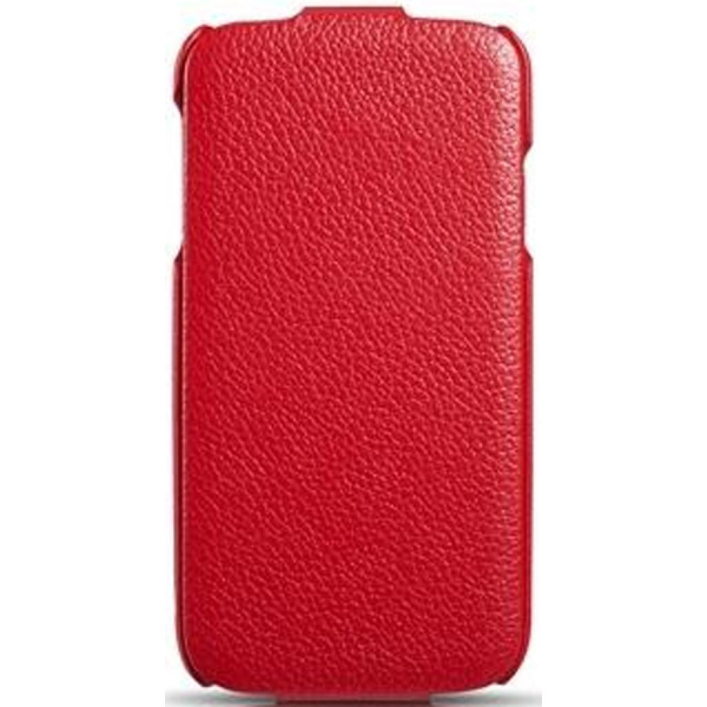 Чехол для моб. телефона i-Carer Samsung Galaxy S4 litchi patern red (RS950001RE)