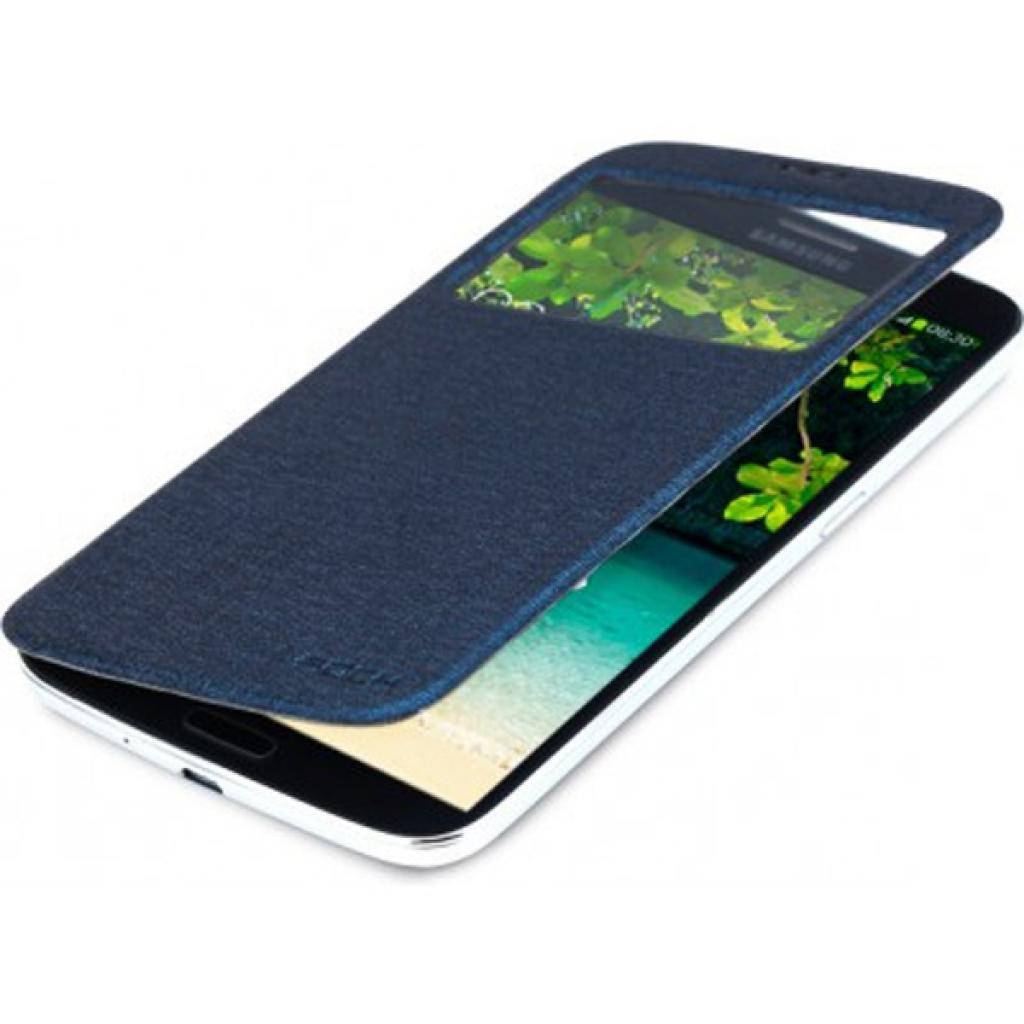 Чехол для моб. телефона Rock Samsung Galaxy Mega 6.3 magic series dark blue (I9200-31894) изображение 2