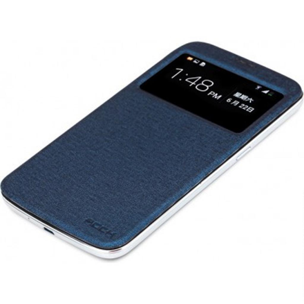 Чехол для моб. телефона Rock Samsung Galaxy Mega 6.3 magic series dark blue (I9200-31894)