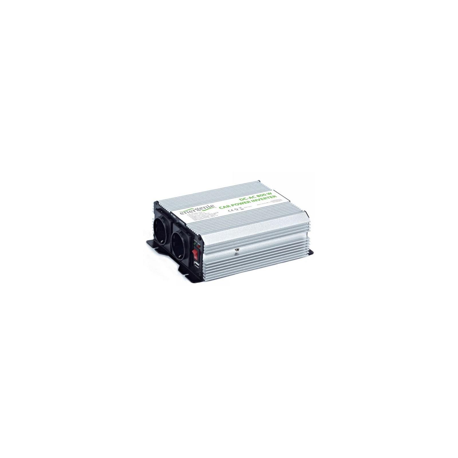 Автомобильный инвертор 12V/220V 800 Вт EnerGenie (EG-PWC-034) изображение 3