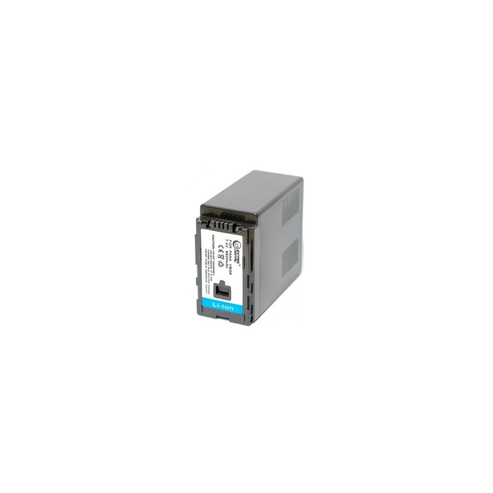 Аккумулятор к фото/видео EXTRADIGITAL Panasonic VW-VBG6 (BDP2589) изображение 2
