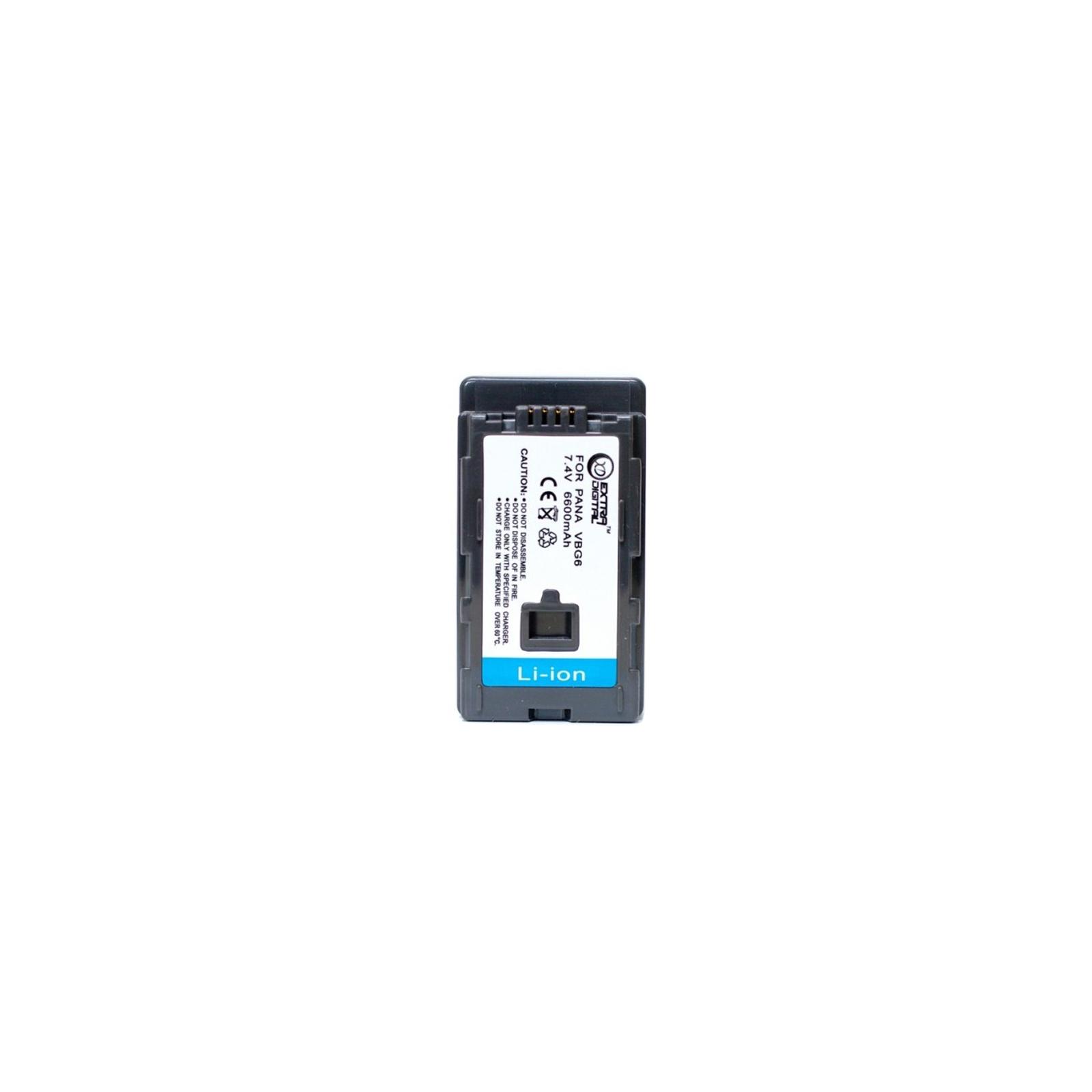 Аккумулятор к фото/видео EXTRADIGITAL Panasonic VW-VBG6 (BDP2589)