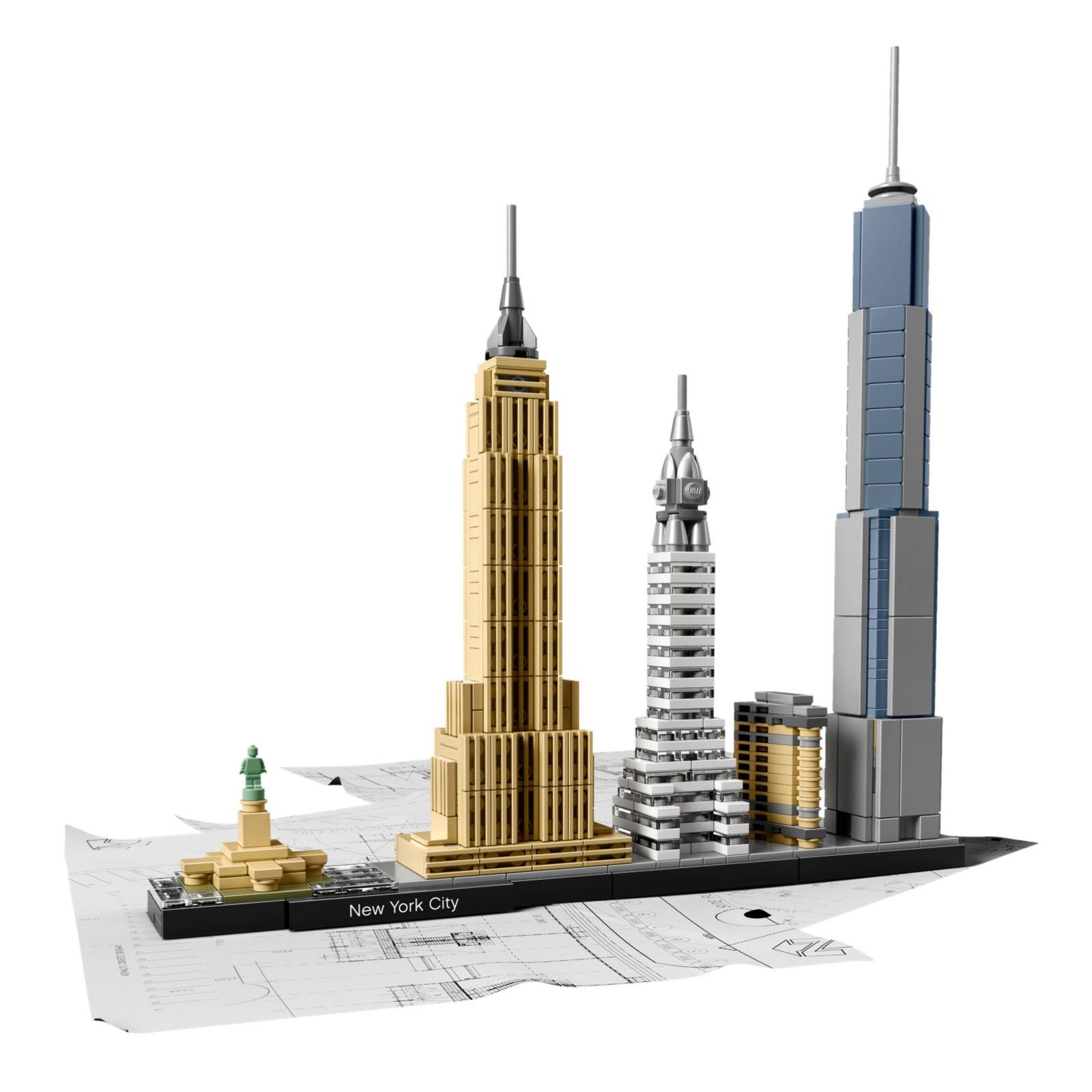 Конструктор LEGO Architecture Нью-Йорк (21028) изображение 2