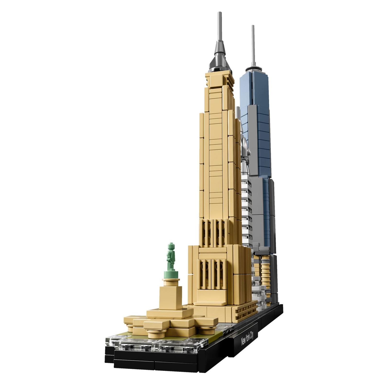 Конструктор LEGO Architecture Нью-Йорк (21028) изображение 3