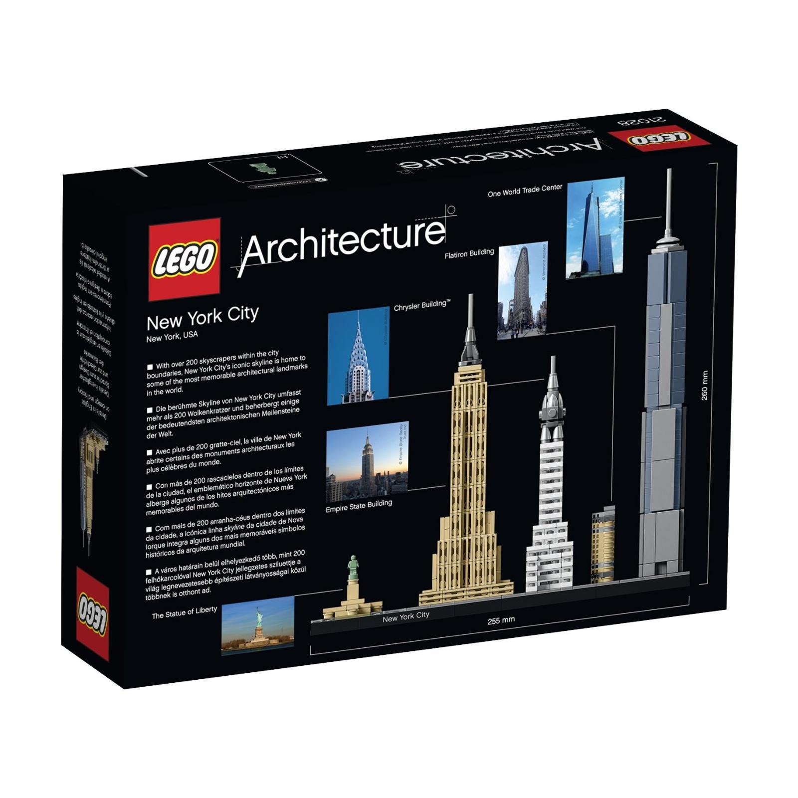 Конструктор LEGO Architecture Нью-Йорк (21028) изображение 6