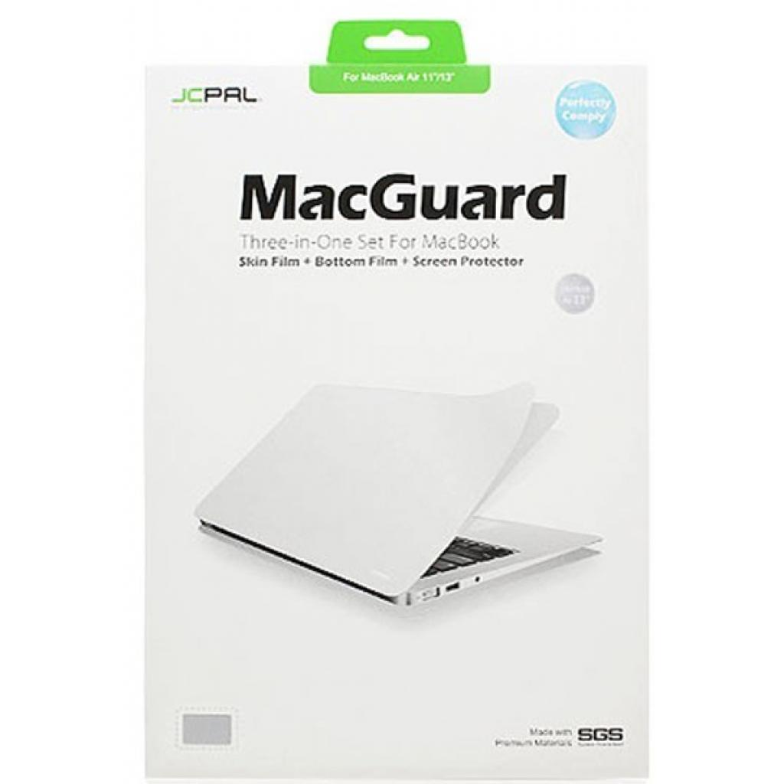 Пленка защитная JCPAL 3 in 1 set для MacBook Air 13 (JCP2044)