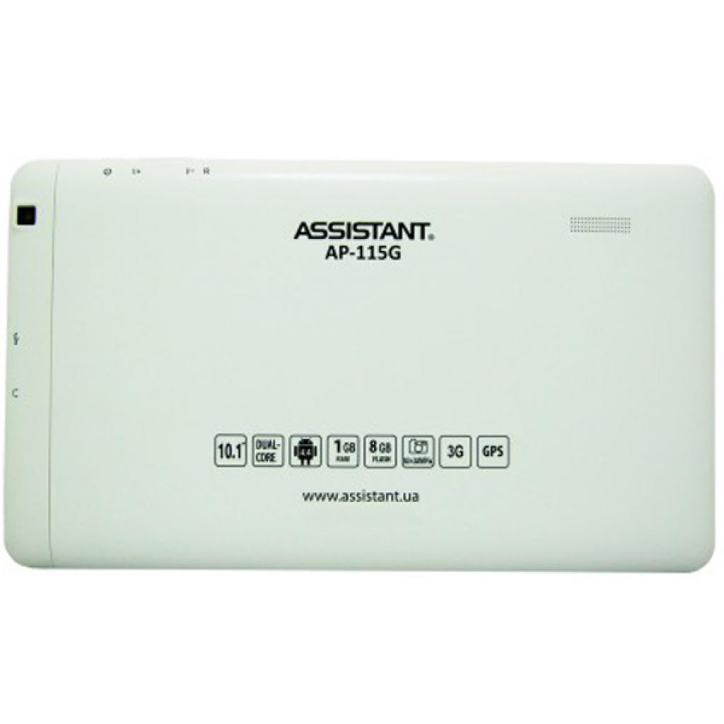 Планшет Assistant AP-115G White Quad изображение 2