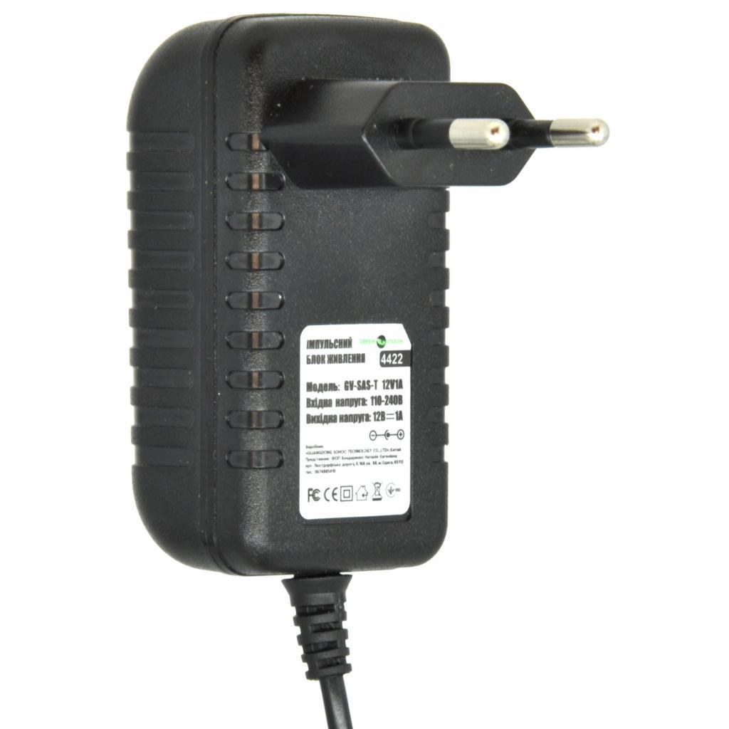Блок питания GreenVision GV-SAS-T 12V1A (3568_) изображение 2
