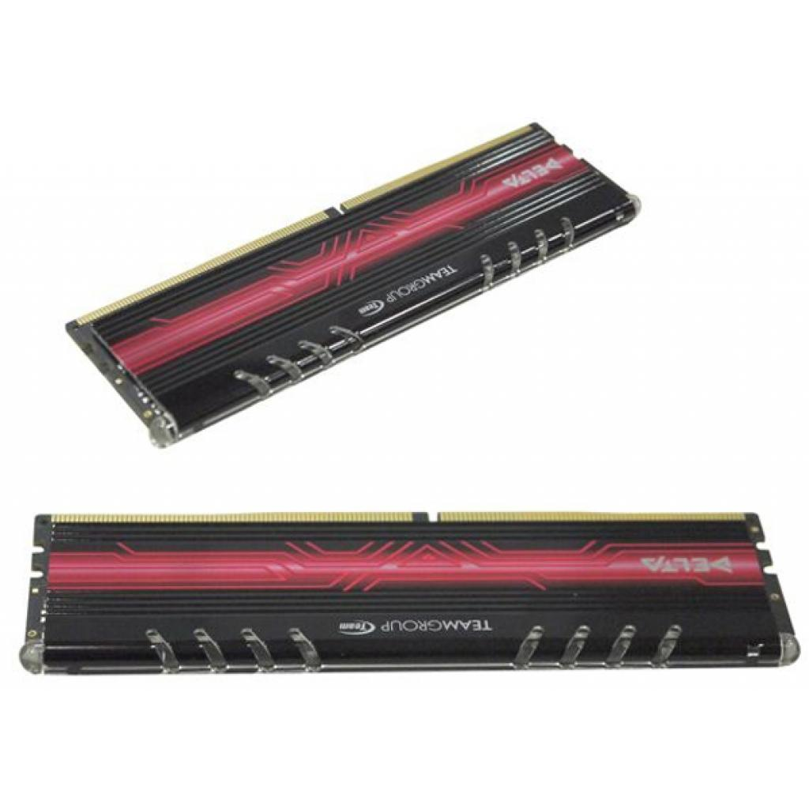 Модуль памяти для компьютера DDR4 8GB (2x4GB) 3000 MHz Delta Red LED Team (TDTRD48G3000HC16ADC01) изображение 2