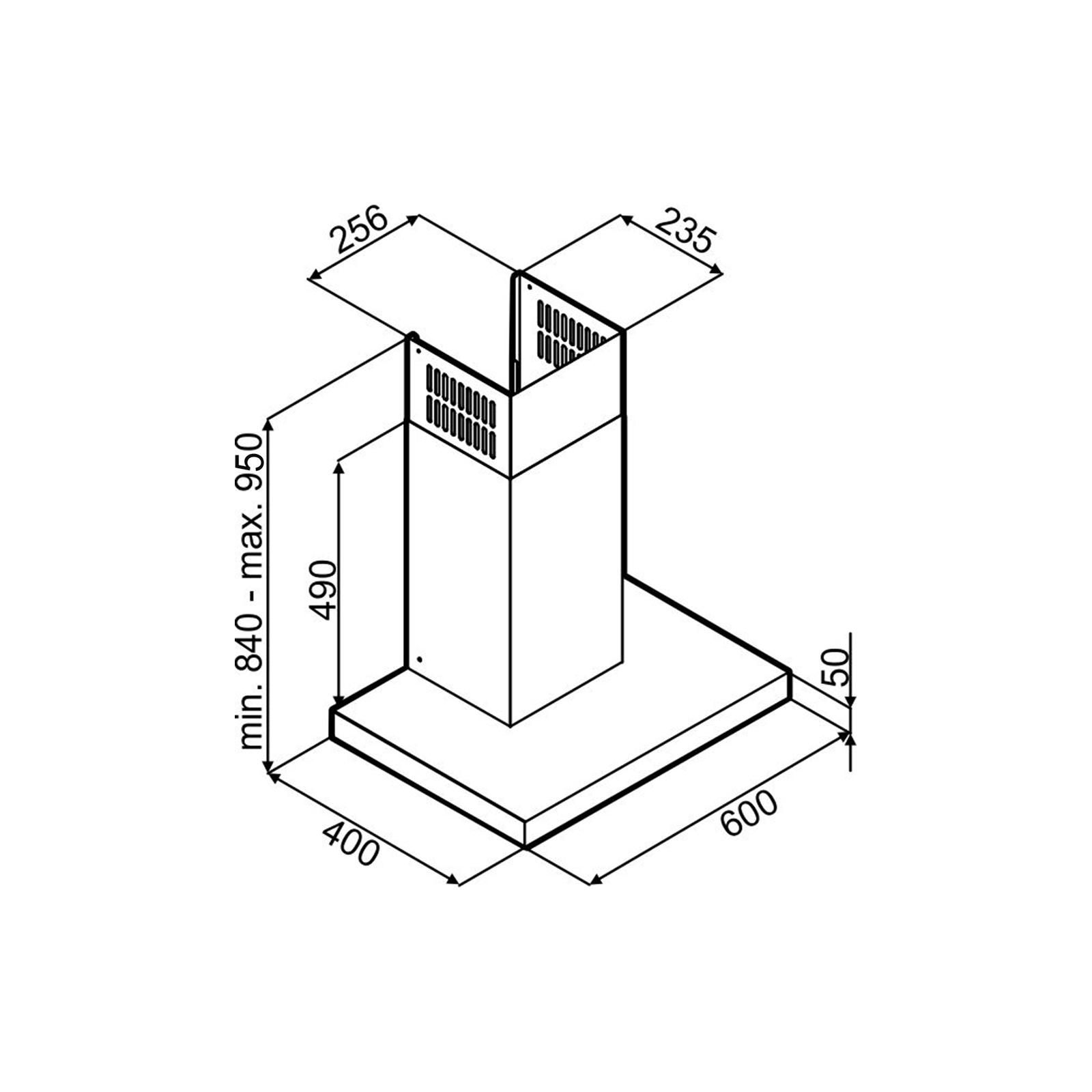 Вытяжка кухонная Perfelli T 6101 I изображение 8