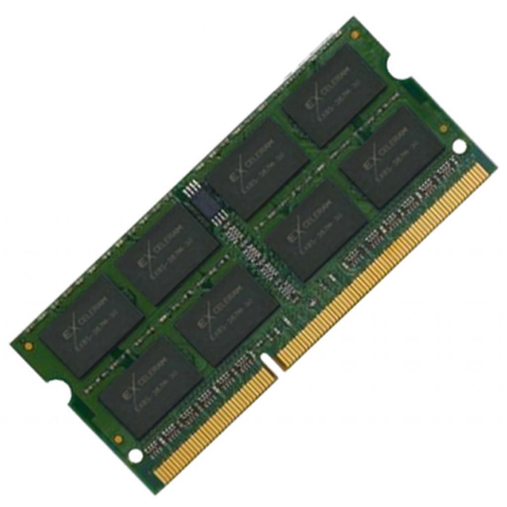 Модуль памяти для ноутбука SoDIMM DDR3 2GB 1066 MHz eXceleram (E30154S)