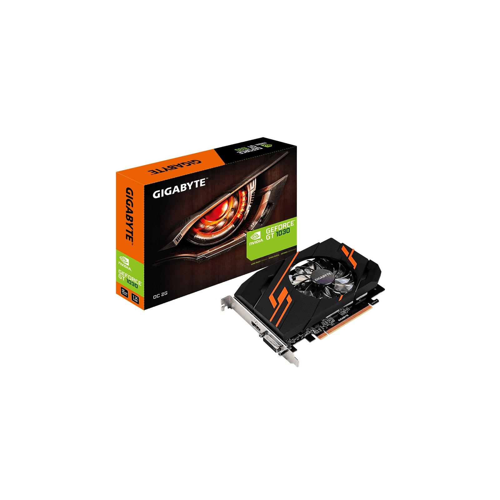 Відеокарта GIGABYTE GeForce GT1030 2048Mb OC (GV-N1030OC-2GI)