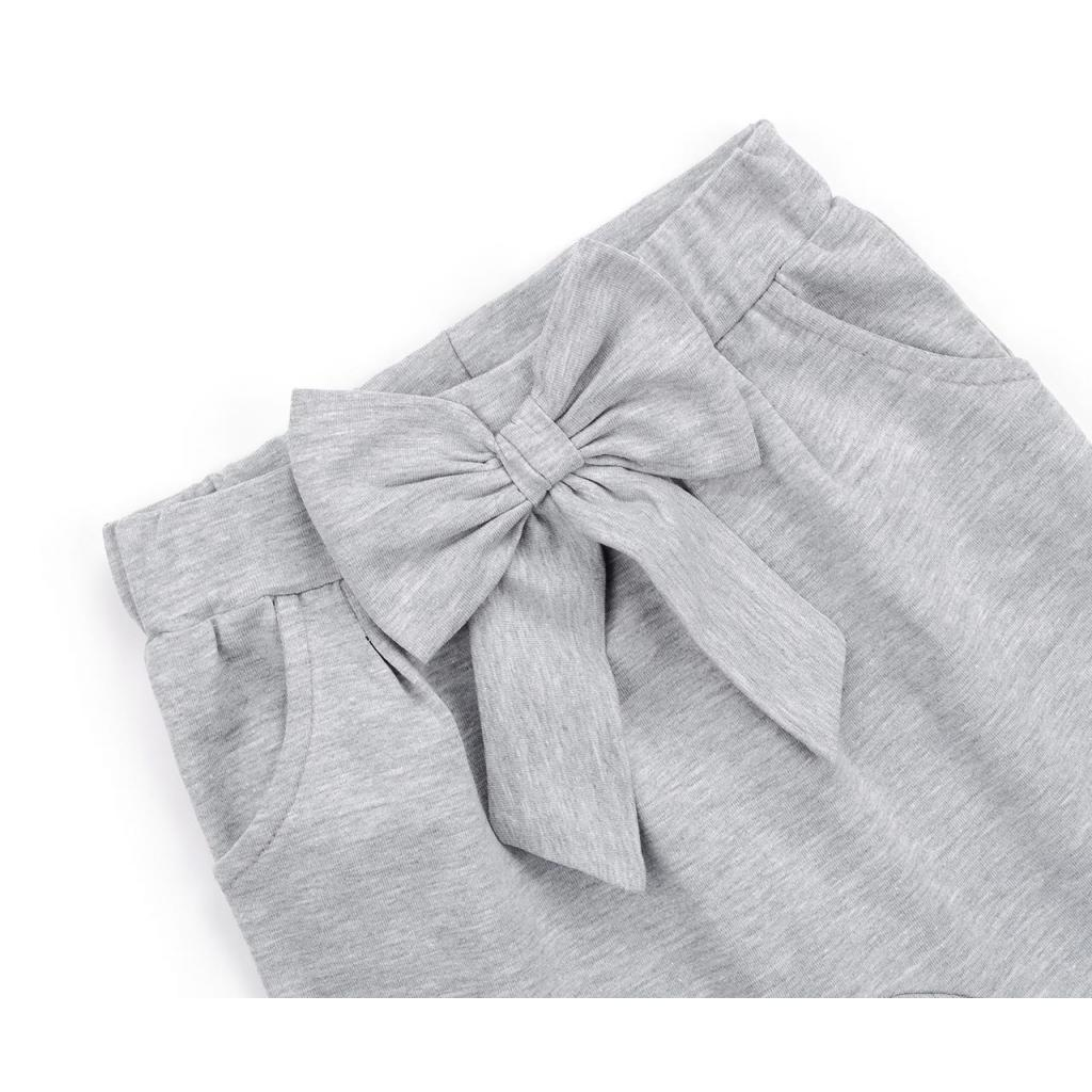 Штаны детские Breeze с бантом (10704-98G-gray) изображение 3