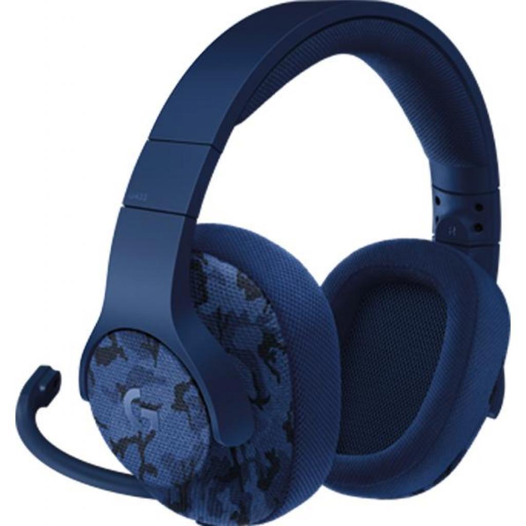 Наушники Logitech G433 7.1 Surround Gaming Headset Black (981-000668)
