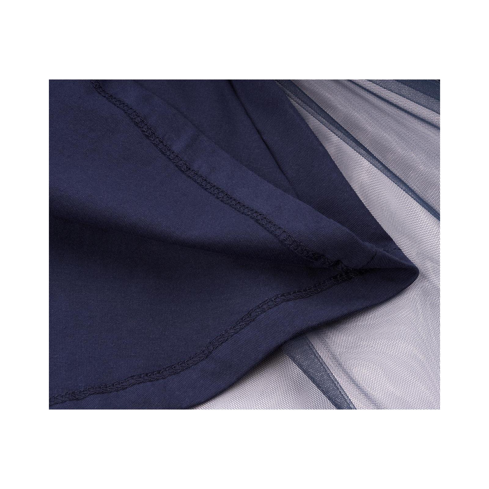 Платье Breeze с кружевным лифом и ассиметричной юбкой (11027-116G-blue) изображение 6