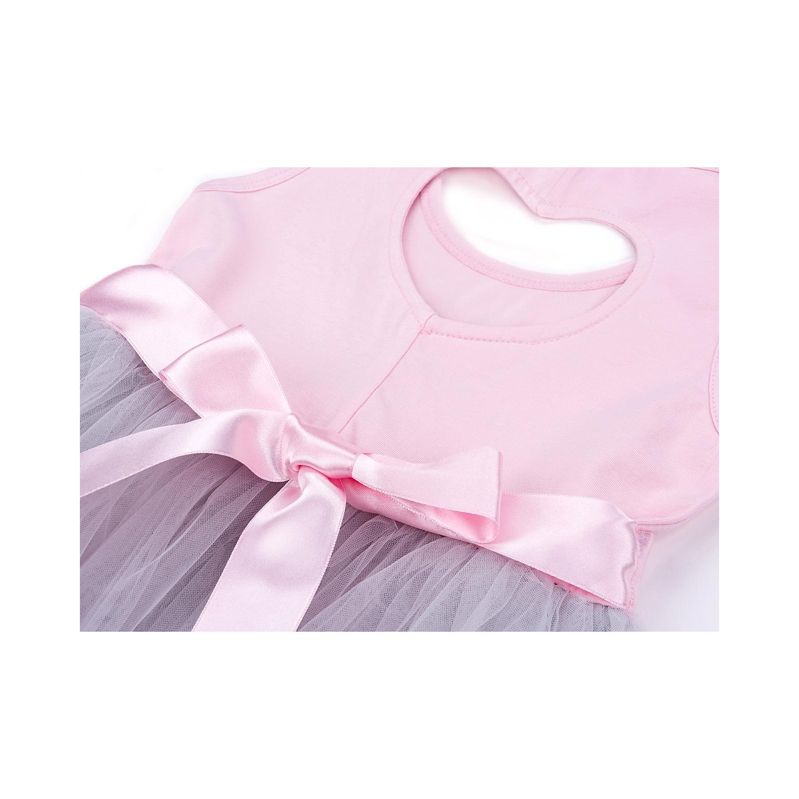 Платье Breeze сарафан с фатиновой юбкой и сердцем (10862-104G-pink) изображение 6