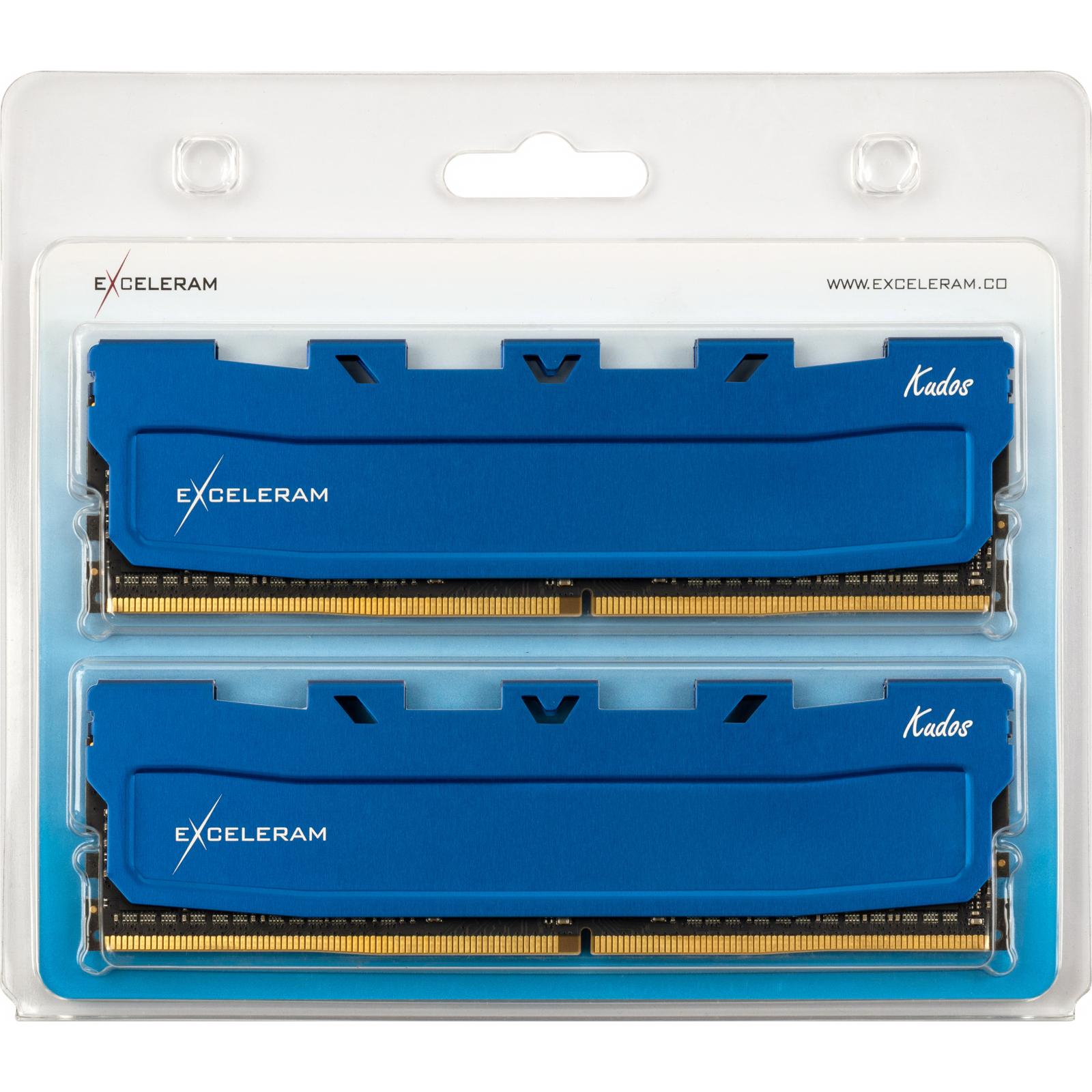 Модуль памяти для компьютера DDR4 32GB (2x16GB) 2666 MHz Kudos Blue eXceleram (EKBLUE4322619AD) изображение 2