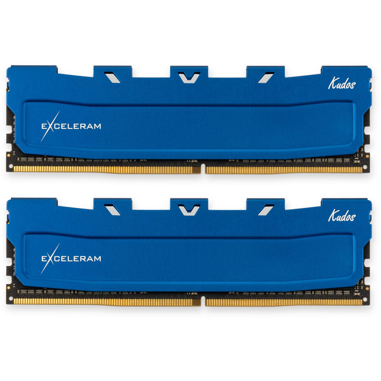 Модуль памяти для компьютера DDR4 32GB (2x16GB) 2666 MHz Kudos Blue eXceleram (EKBLUE4322619AD)