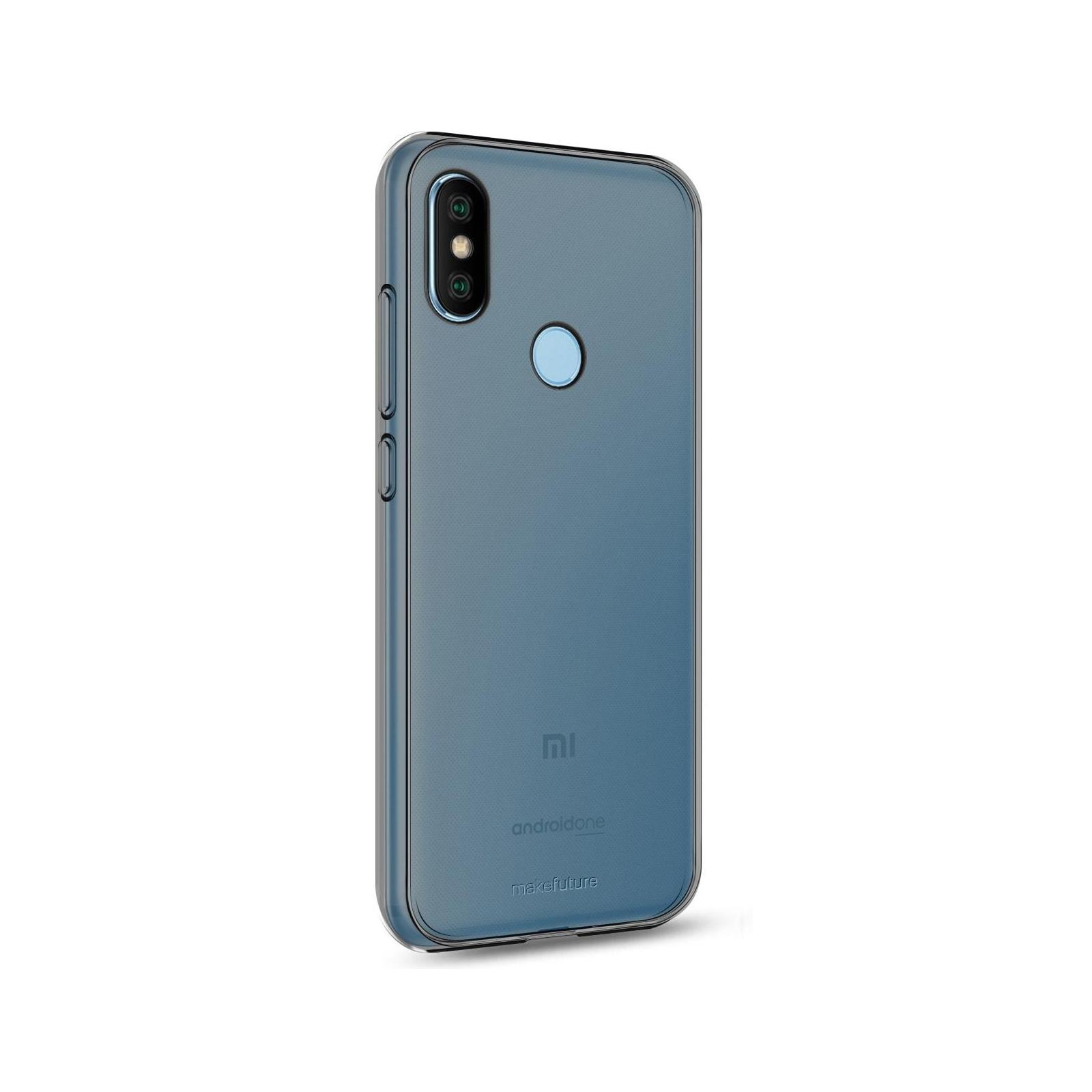 Чехол для моб. телефона MakeFuture Air Case (Clear TPU) Xiaomi MiA2 Black (MCA-XMA2BK) изображение 2