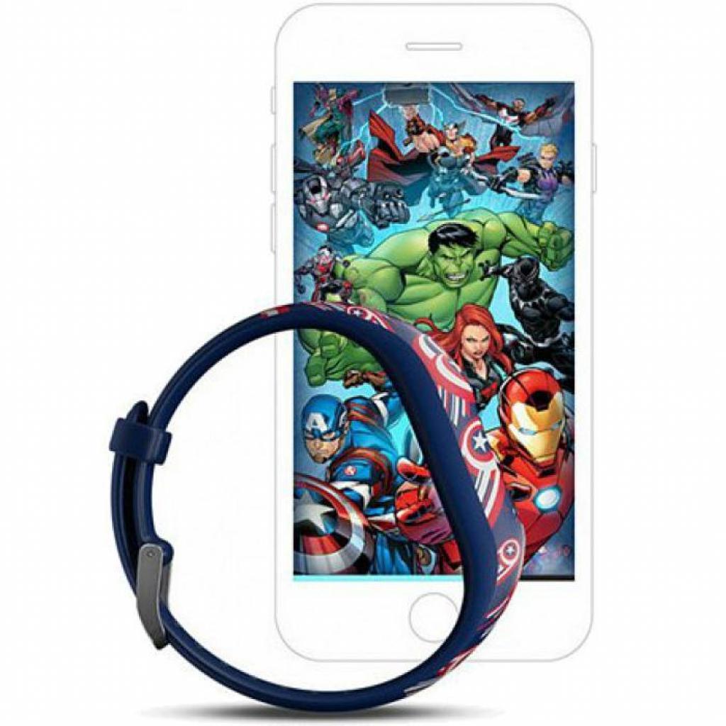 Фитнес браслет Garmin Vivofit Jr 2 Captain America L (010-01909-62) изображение 5